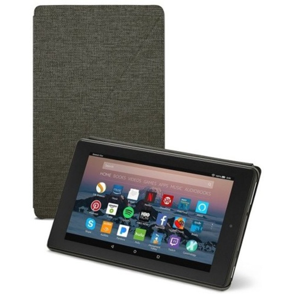 Amazon B01N0HGPJR Case for Fire 7 Tablet (7th Generation) - Charcoal Black